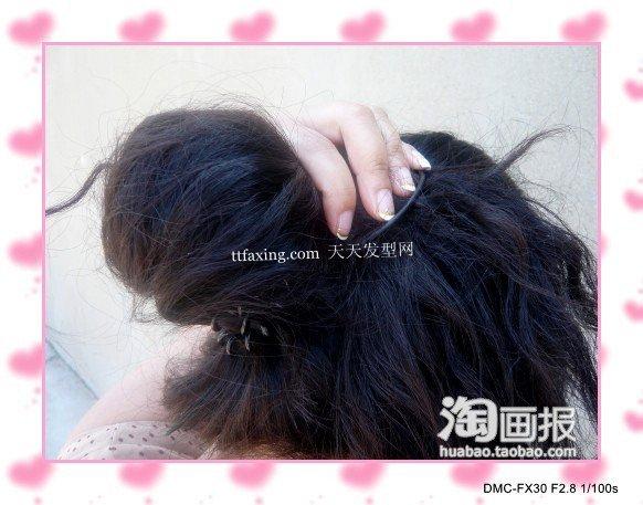 发量少发型 2012最新韩版头