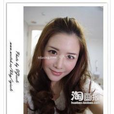 刘海攻略 2012年最新发型长发