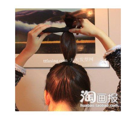 日系盘发~最火放送 怎么盘出有气质的头发