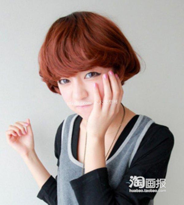女生可爱短发 韩式短发烫图片~最IN抢先看