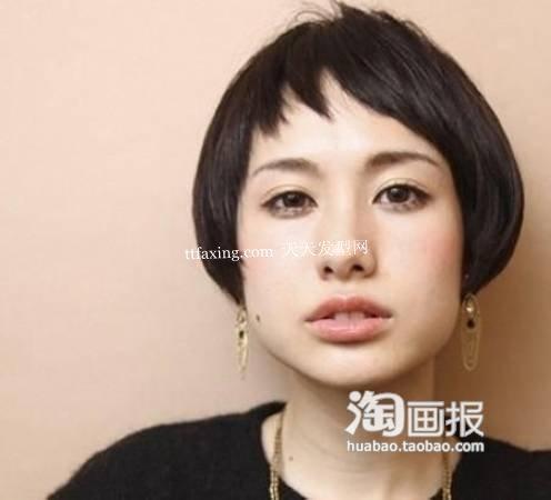 流行中短发型 生活中扎的发型~超简单气质