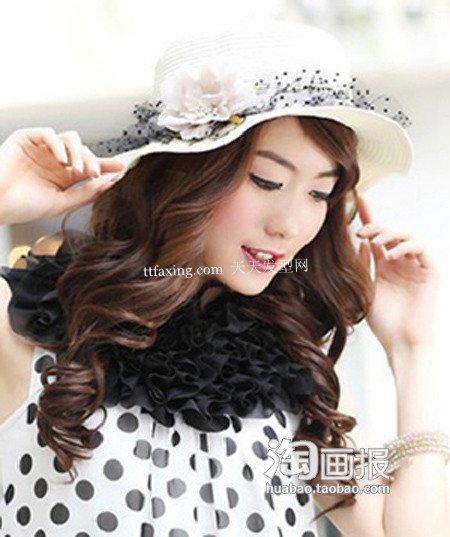 帽子发型 2012年最新流行女发
