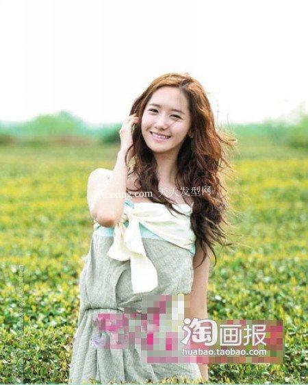 90后韩国少女发型~优雅小姐 2012最新发型女图片