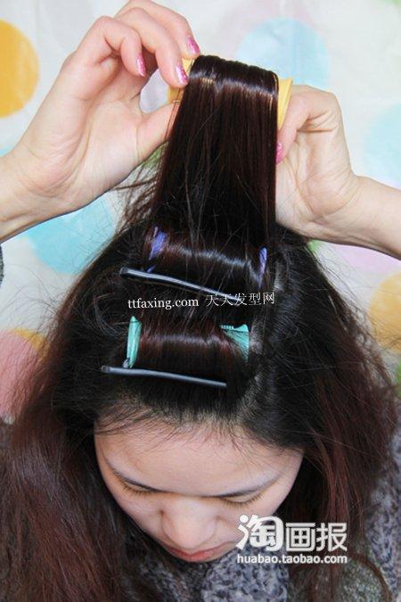 完美新娘发型 2012年最流行新娘发型
