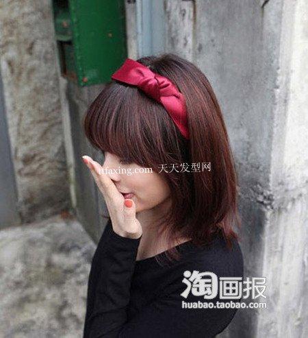 韩系发饰 2012短发发饰~美丽鲜活