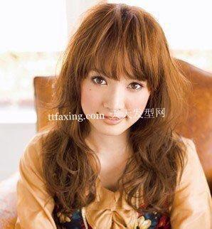 女生刘海发型图片 瘦脸刘海扮嫩小脸还能惹桃花