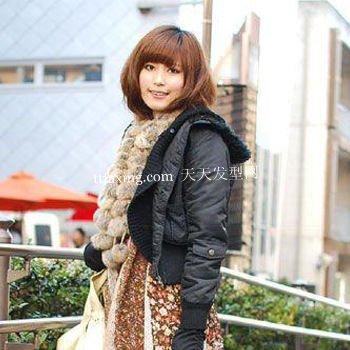 今年最流行的日系梨花头 东京街拍发型不容错过