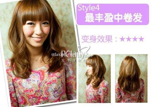 刘海发型图片 让你立马变回18岁的刘海发型设计