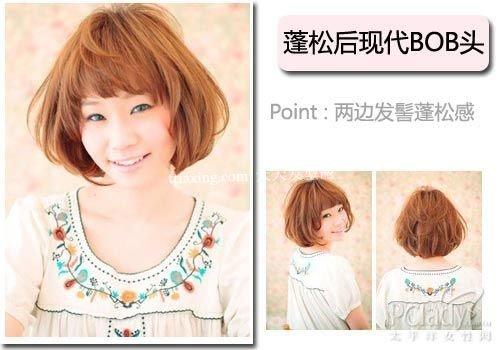 2012年最流行的发型 5款日本春季发型趋势