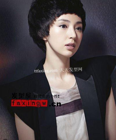 美女明星董璇的时尚发型大盘点