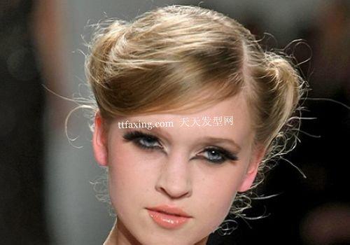 时尚派对发型告别单调 做回明星风味的时尚打扮