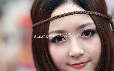 最养眼的发型 10款可爱发型扎法图片