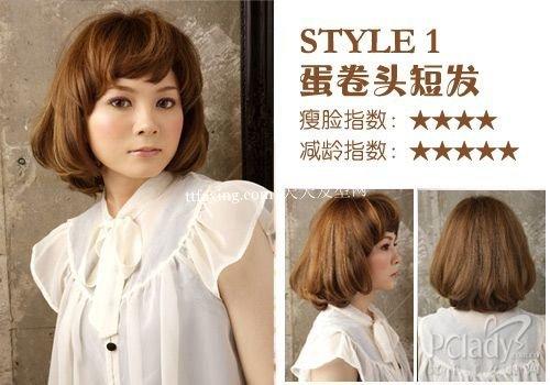 2012流行一夏的六款时尚短发