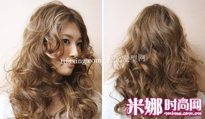 今年秋冬将最流行的长发卷发发型