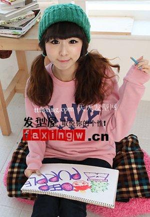 最流行的韩国发型 既时尚又可爱的韩国女生可爱发型