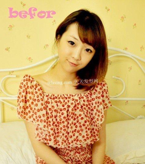 最简单的韩式盘发 打造温柔可人的淑女风格