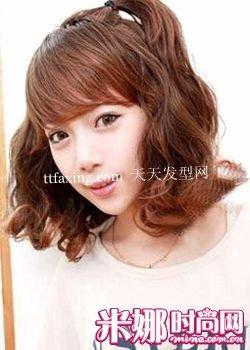 今年秋冬最流行的可爱女生短发发型