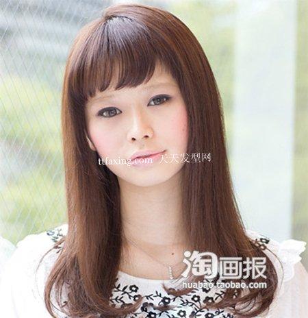 微凉发型 2012最新发型设计~甜美出击!