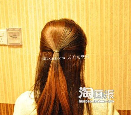 盘发器发型 直发学盘头~目光瞬间点亮!