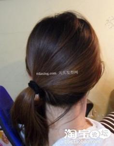 马尾发型 韩式马尾辫~减龄最给力