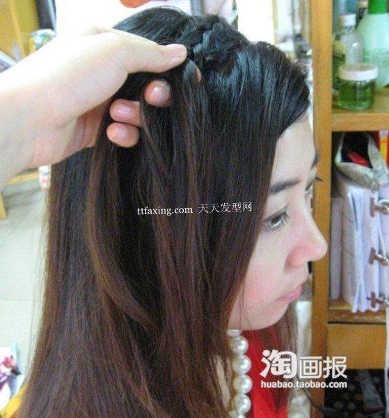 头发变发带 2012年长脸短发新发型~最IN大结合