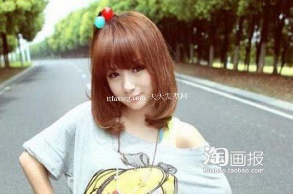 女孩夏日发型 最新的大脸适合那些卷发~造型超抢镜