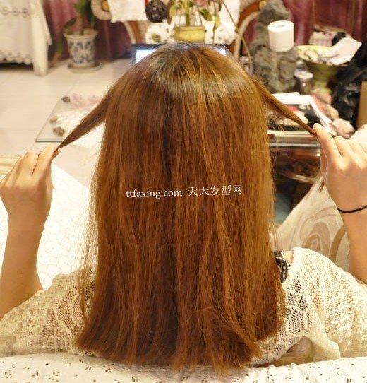 实用发饰发型~婉约的日式发! 流行盘头发饰
