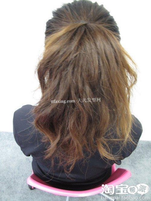 夏天日本盘发 如何diy发型之丸子头系列