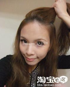 韩式中短发发型扎法 浪漫侧边花