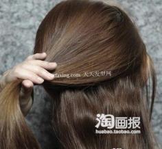 2012年华丽简单盘发DIY 2012流行发型的颜色