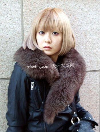 韩式发型扎法步骤 荷叶头发型