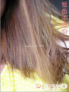 梨花烫发型图片~自己染发的颜色 棕色