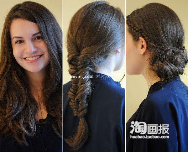 麻花辫发型 小眼睛女人2012最新发型~扮靓进行时