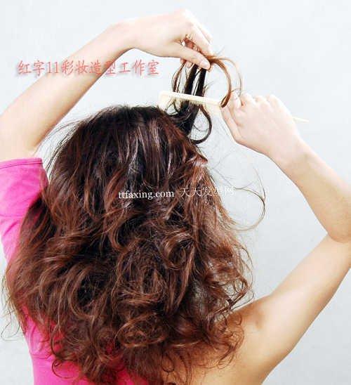 几种扎头发的方法发型DIY轻盈大美女
