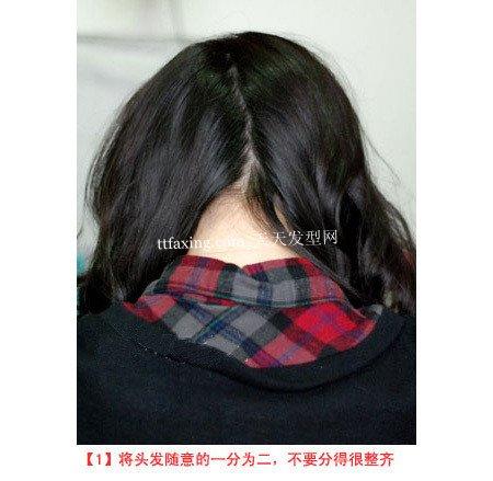俏丽动感的蝎子辫发型DIY 走流行发型之路