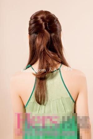 轻松DIY公主发型 卷出甜美女生