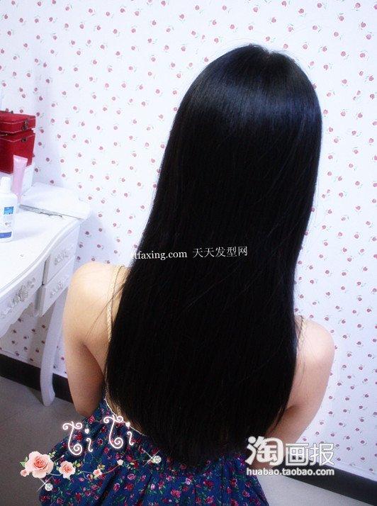 乌黑秀发 2012年最新发型图片~轻松抢镜