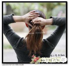夏天流行发型 巧用发饰打造立体感发型