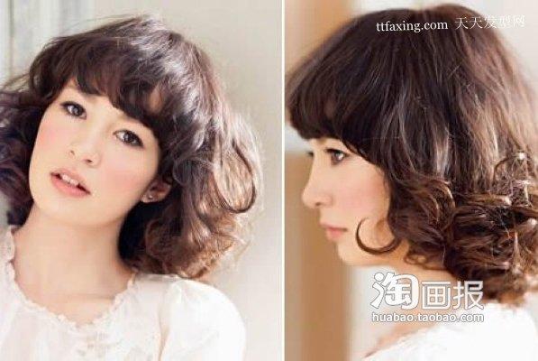 娃娃发型 最新超短女发型~轻松变身记