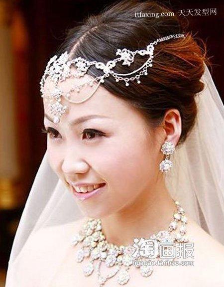 复古新娘造型 适合新娘的发型~让你华丽变身