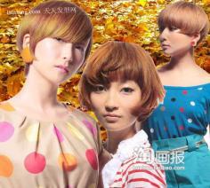 日系短发养成术华丽变身 流行的发型设计