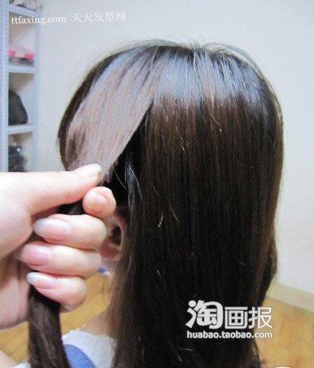 韩式简单秋冬发型气息 发型非主流