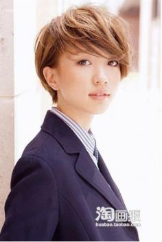 清纯日式长发+短发大放松 90后非主流女生发型