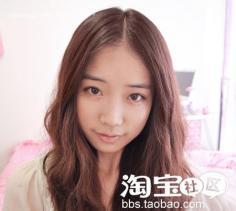 圆脸型适合的刘海 乖巧发型韩国妹就这么简单