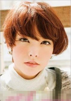 1分钟甜美优雅BOB短发 2012最流行什么颜色头发
