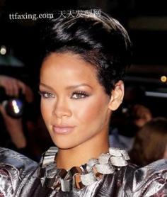 闪亮发型街拍欧美女星发型 流行短发发型