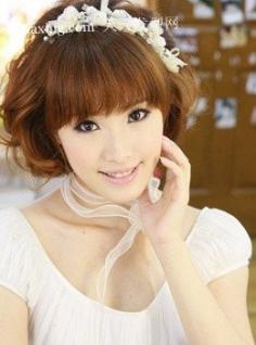 日系温柔vs甜美流行造型 流行短发卷发发型