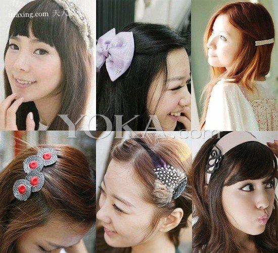 发型巧搭配暖冬发饰 最流行的韩式发型