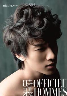 2款2012年男生流行发型~一长一短