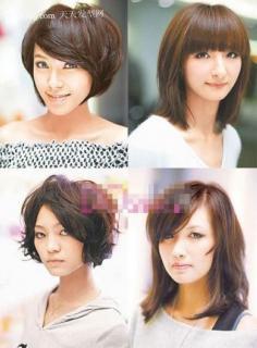 波波头发型图片 2012年最流行女发型